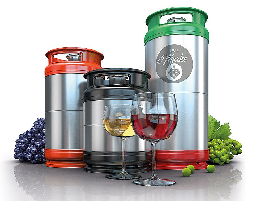 Reusable KEGs for wine